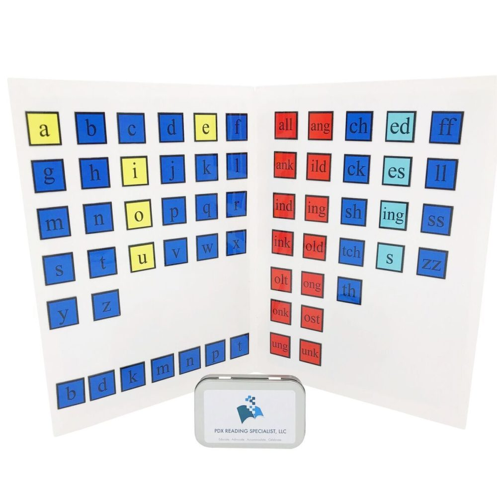 Magnetic Letter Tiles & Board Bundle