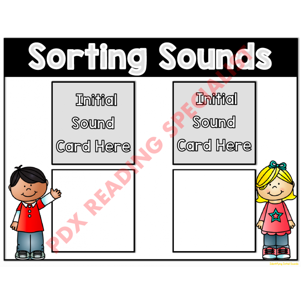 Sorting Sounds Game Board #1 - Digital Version (Instant Download!)