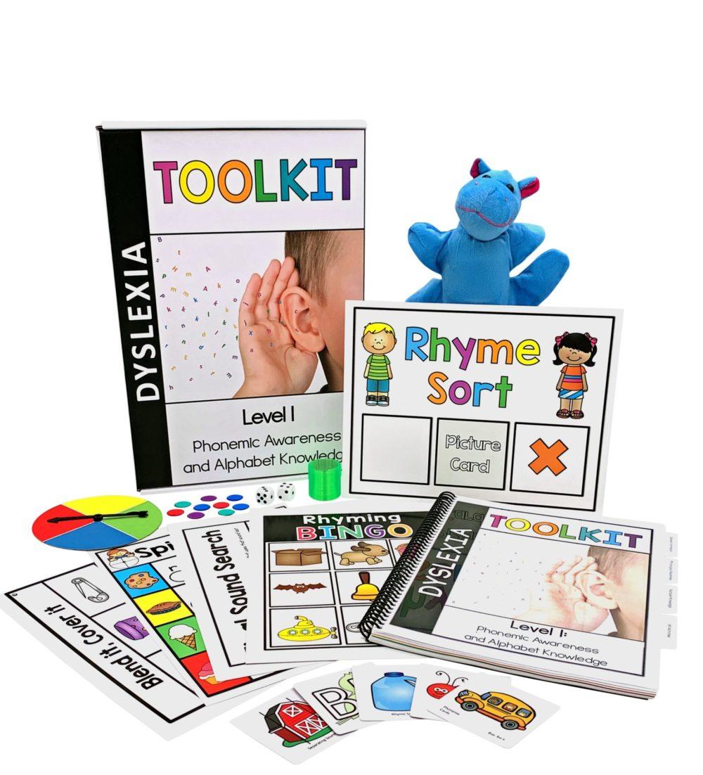 Dyslexia Toolkit (Level 1) - FREE SHIPPING! *