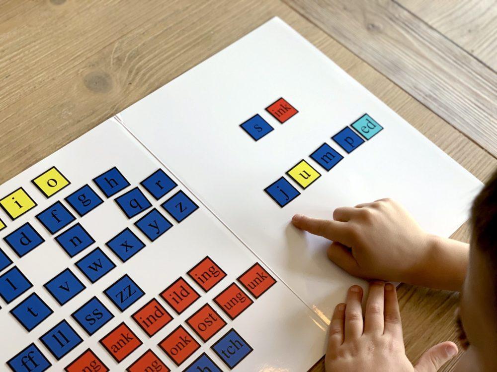 Magnetic Letter Tiles